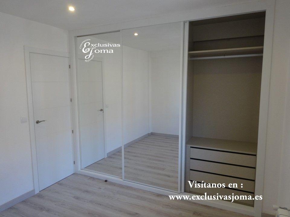Realizaci n de armario con puertas correderas con sistema de frenado silencioso a medida freno - Medidas de puertas de interior ...