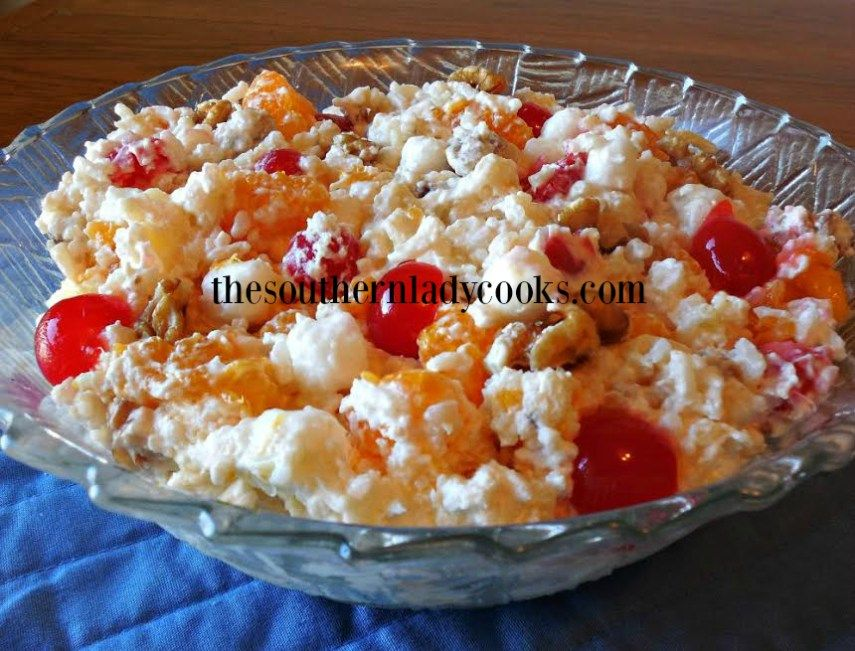 This Million Dollar Rice Salad has been around a long time. It is a good salad for pot luck meals, church gatherings and picnics. This salad is great in summer or winter and for any holiday meal. M…