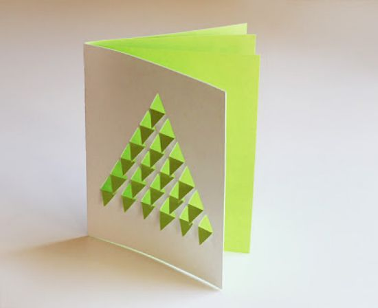 ideas diy felicita la navidad con las tarjetas ms originales - Postales De Navidad Caseras