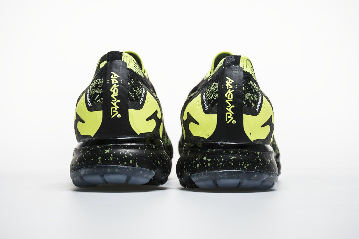 e70cbd2e68b ACRONYM x Nike Air VaporMax Moc 2 AQ0996-007 Black Green Shoes5 ...
