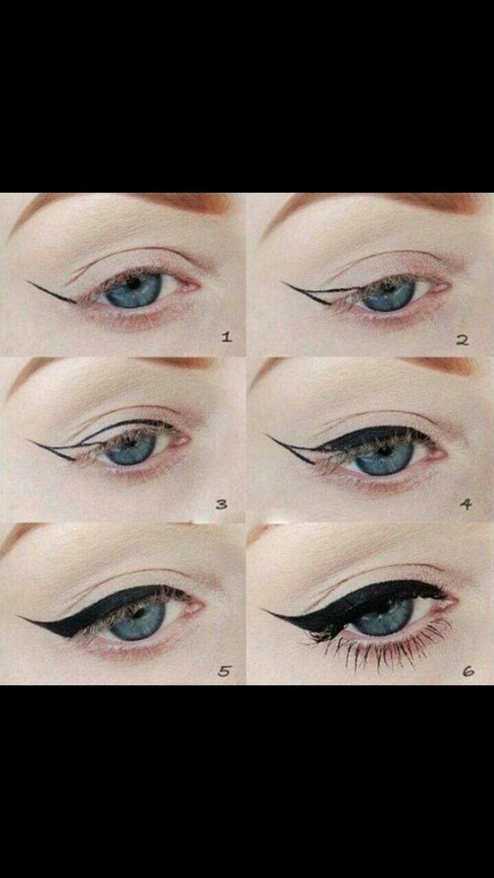 pinterest vingle perfect cat eye eyeliner tutorial beauty tips baditri Image collections