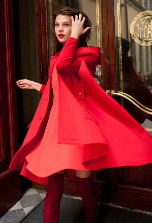 Little red riding coat - Remember to tag all of your RED pins with #macysgoesred and Macy's will donate $2 toward heart health