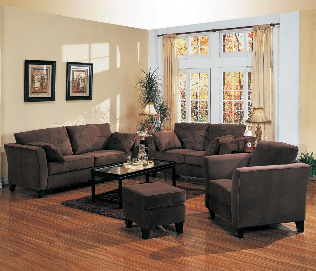 paint to go with brown furniture best paint for wood on best living room colors id=98613