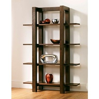 This Walnut Lyon open shelf unit from Debenhams is beautifully designed and created with rustic walnut veneers. £432