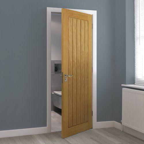 Photo of Innvendige dører Thems laget av eik JB Kind Doors Dørstørrelse: 198,1 cm H x 45,7 cm B x 3,5 cm D