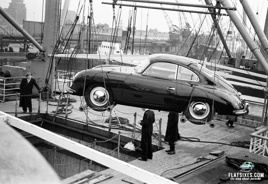 Did You Know Frank Lloyd Wright Designed One Of Porsche S First Showrooms In The Us Porsche 356 Porsche Showroom Vintage Porsche