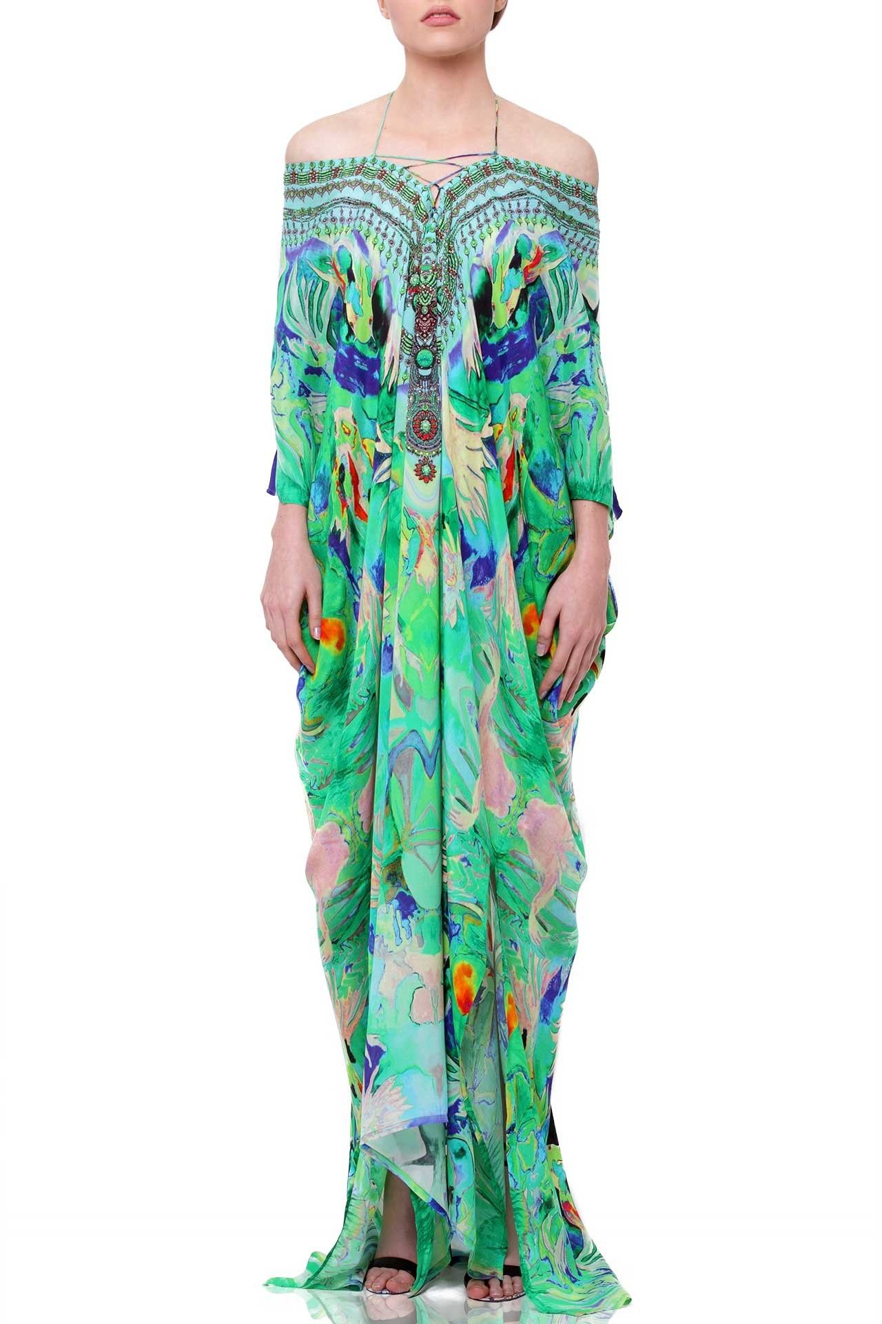 bd4066774102 Designer Kaftan Dress - Kaftan Maxi Dresses | Lace Up Kaftans - Shahida  Parides®