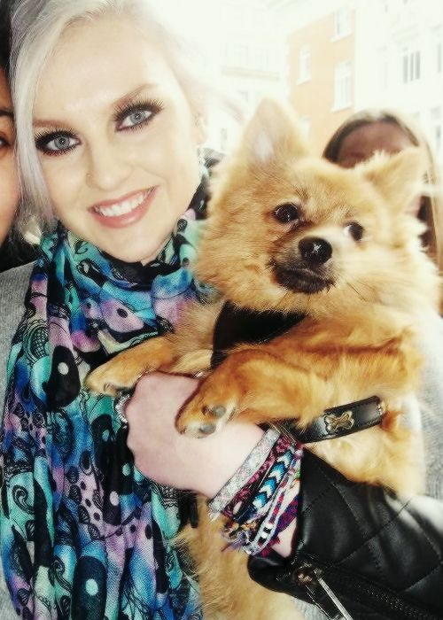 Perrie Edwards Chalina y make up