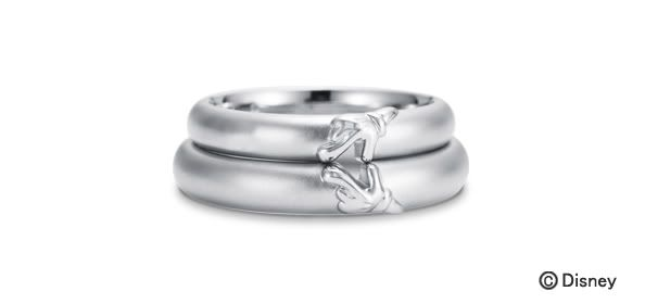 Mickey And Minnie Wedding Rings