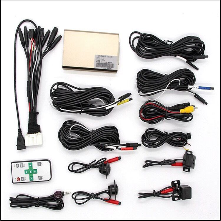 Electric Car Wireless Birds Eye View Car Camera System 360 View Car
