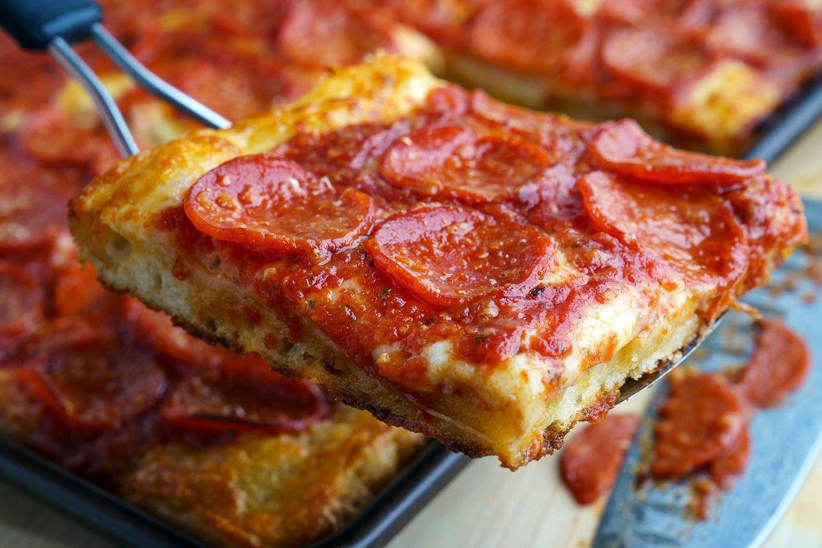 Sicilian Pizza Recipe Sicilian Pizza Recipes Food