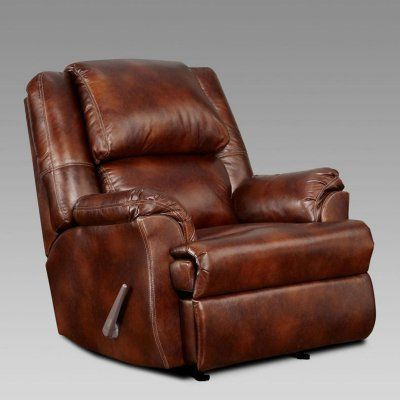 Chelsea Home Furniture Berks Leather Recliner 192600 Mc Durable