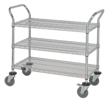 3 shelves wire carts on wheels for storage rolling wire carts with rh pinterest com rolling wire shelves lowes rolling wire shelves lowes