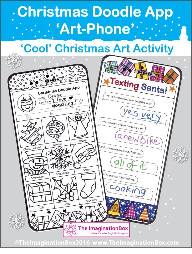 Christmas Coloring Pages Dear Santa Christmas Art Phone Winter Art