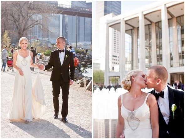 Small Intimate Wedding In New York Lincoln Center