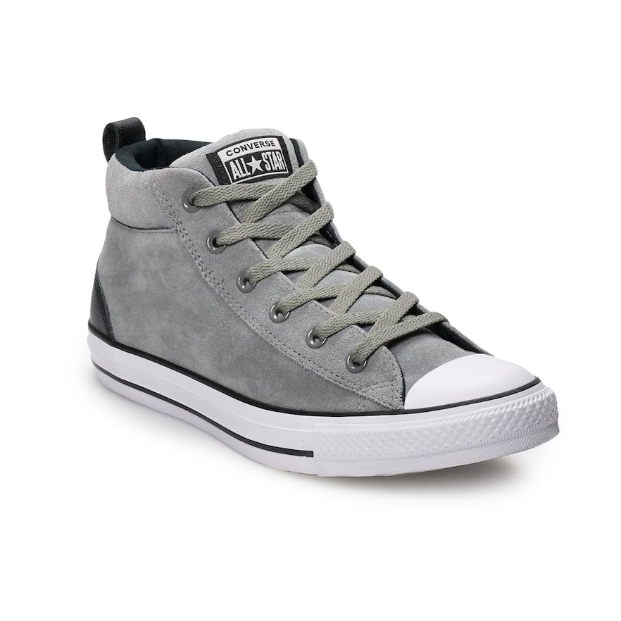 8dfd9495cfa5 Men s Converse Chuck Taylor All Star Street Mid Suede Sneakers ...
