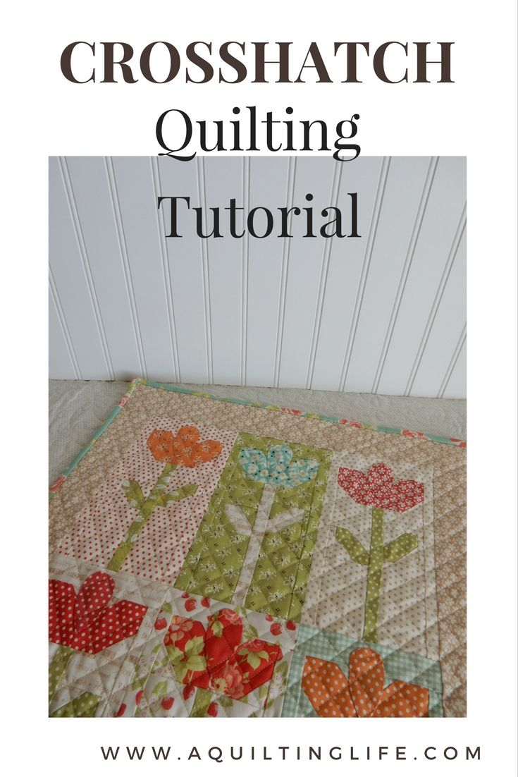 Cross Hatch Quilting Tutorial A Quilting Life Quilting Tutorials Machine Quilting Tutorial Hand Quilting Patterns
