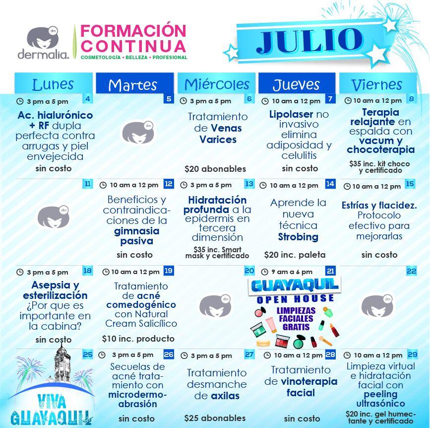 Calendario Julio!