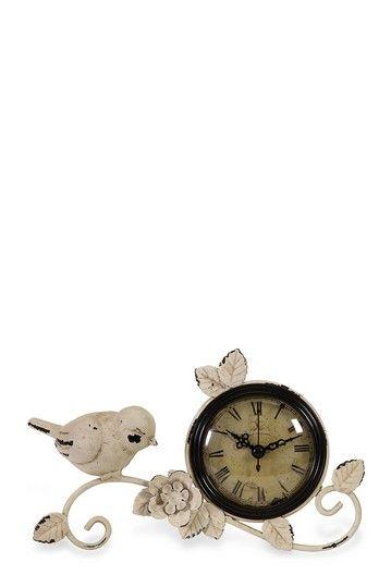 鳥などがデザインされて可愛い時計ですー!:Cutest clock