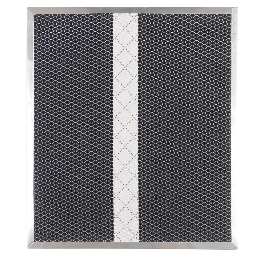 Broan Nutone Mantra Series Type Xa Ductless Range Hood Replacement Filter For Single Filter Models Hpf1 The Home Depot Charcoal Filter Ductless Range Hood Broan