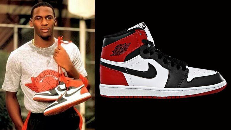 "5362a6ad1be55a Air Jordan 1 Retro Hi OG ""Black Toe"" Release Details – Foot Locker ..."