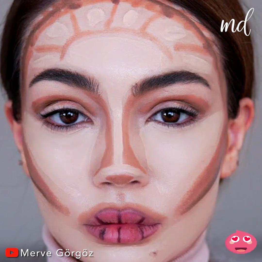 TUTORIAL DE CONTORNO  – Maquillaje