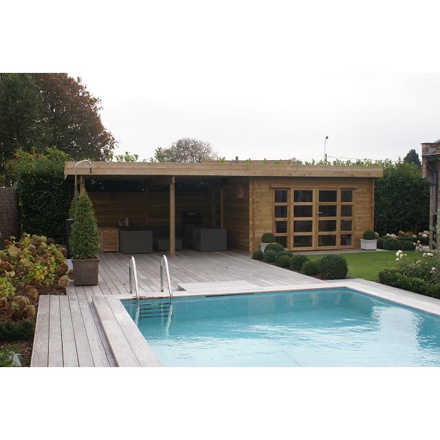 Emejing Abri De Jardin Toit Plat Beton Images - Matkin.info ...