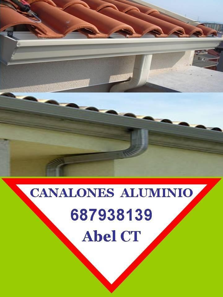 Canalones aluminio murcia for Canalon de aluminio