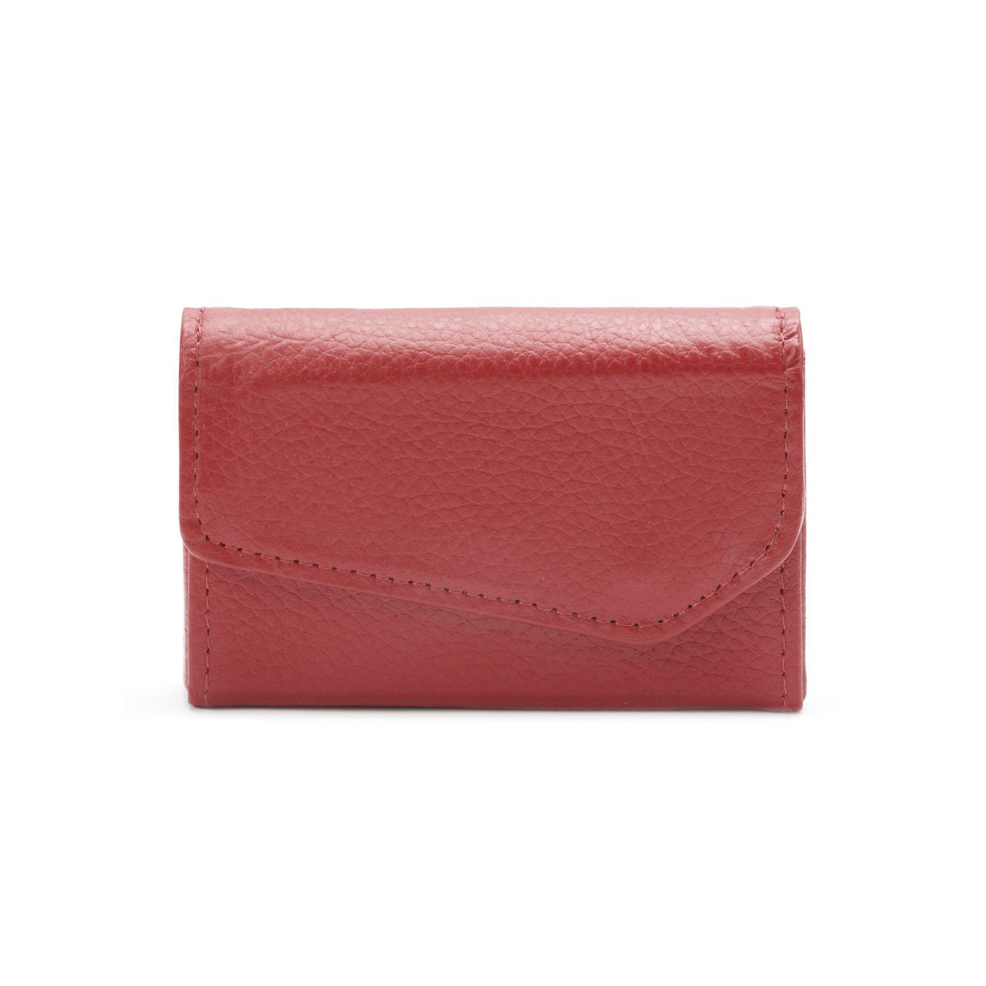 Buxton Hudson Pik-Me-Up Leather Business Card Wallet, Women\'s ...