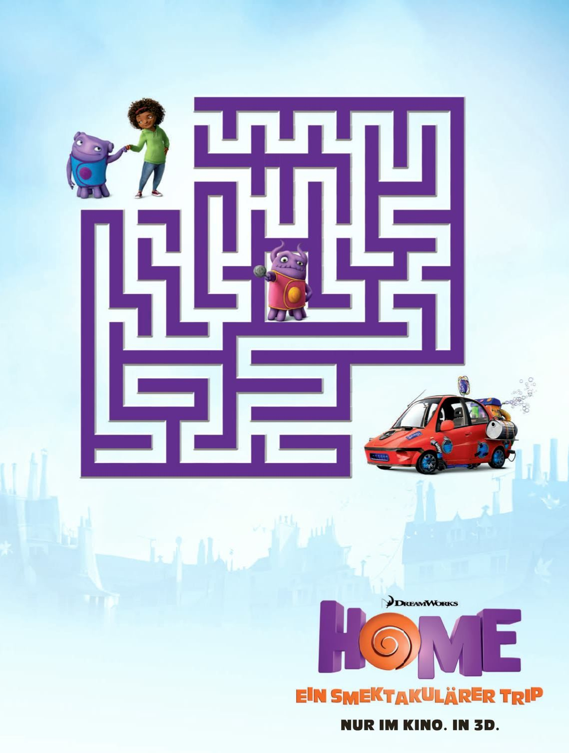 can you find through the maze in dreamworks animation s new movie