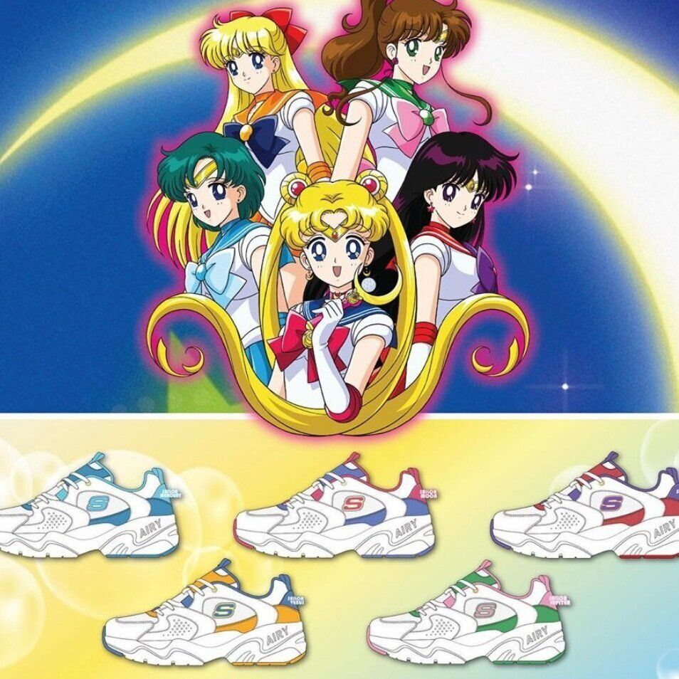 Skechers Collaborated With Sailor Moon On A New Range Of Sneakers