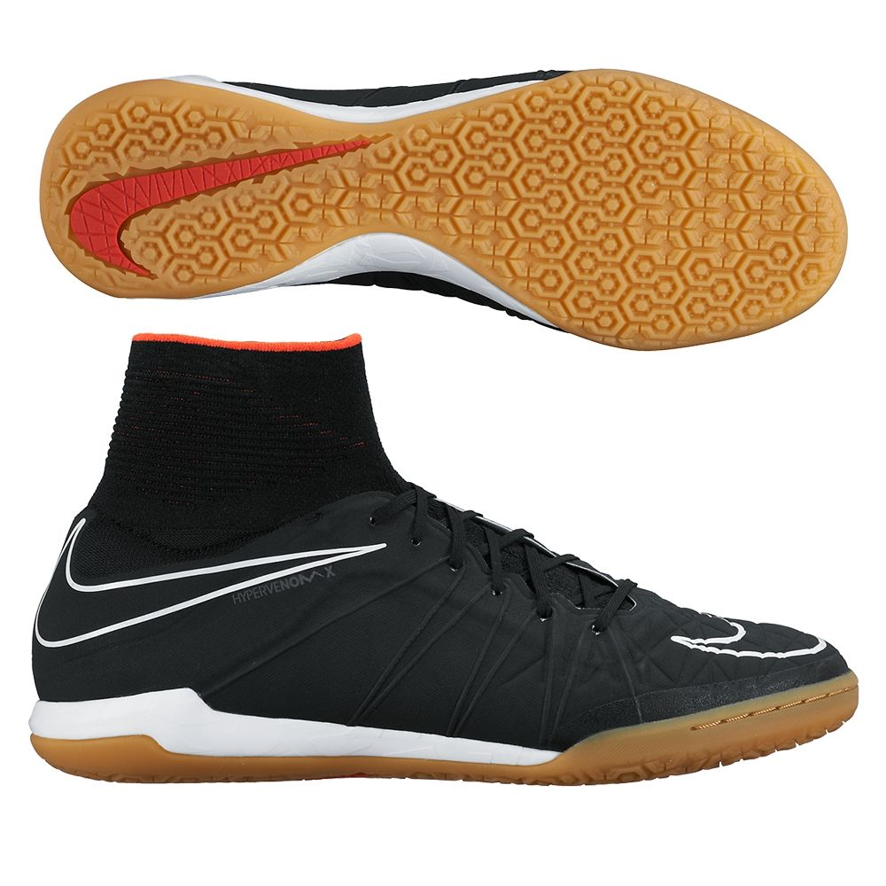 a413789e0490 Dance through the defense in the Nike HypervenomX Proximo indoor soccer  shoes. These shoes feature