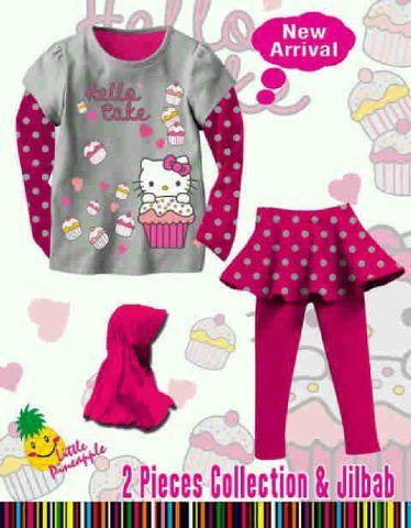 Setelan Baju Bayi Perempuan
