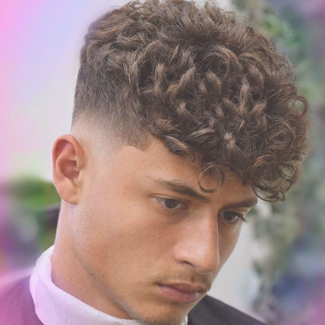 New Fade Haircuts For Curly Hair Menshair2019 Menshair Menshairstyles Menshaircuts Bestmenshairst Curly Hair Men Young Men Haircuts Mens Hairstyles Curly