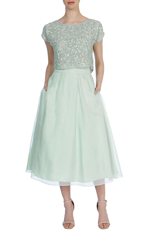 Bridesmaid Dresses Greens Melo Skirt Coast Stores Limited Vestidos Looks Roupas