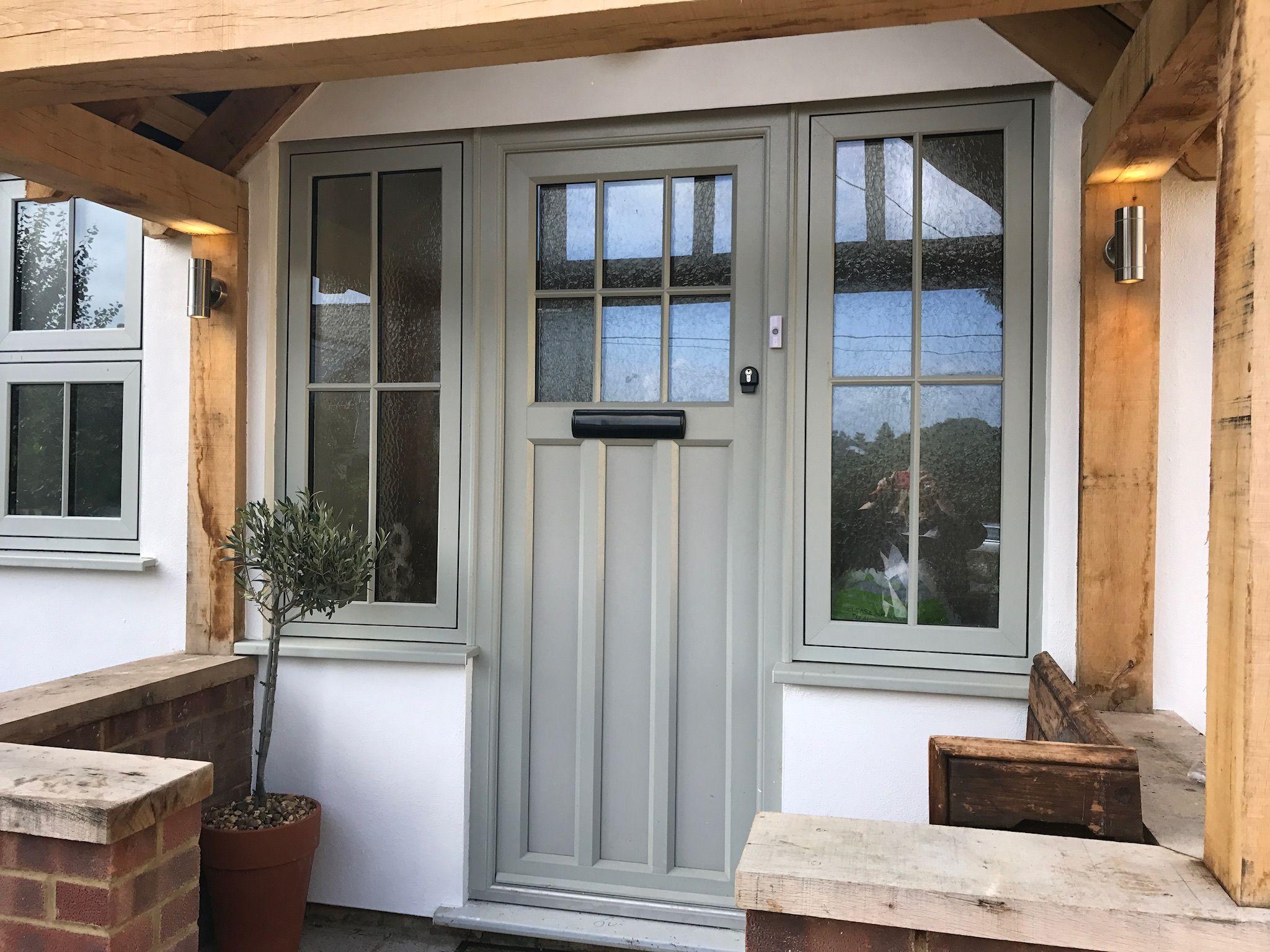 Suffolk Ixworth 2 Front Door Agate Grey Doors With Windows