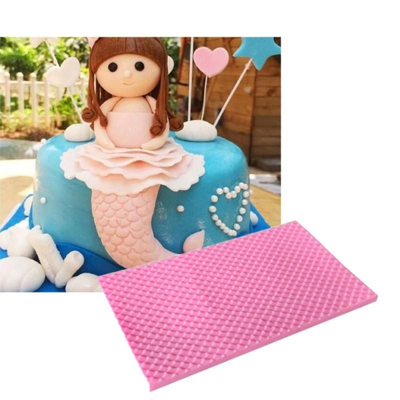 Get creative with this food safe silicone impression mat