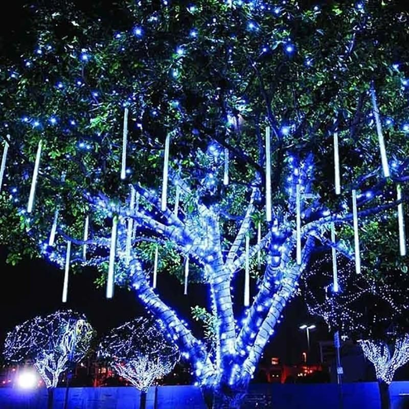 Romantic Aesthetic Snow Fall Led Lights In 2020 Decorating With Christmas Lights Hanging Christmas Lights Led Christmas Lights