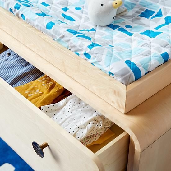 Urchin 3-Drawer Changing Table by Steuart Padwick | The Land of Nod