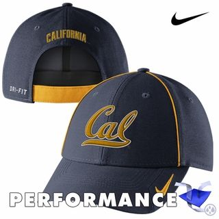31f33544411 California Golden Bears Nike Dri-FIT Coaches Legacy 91 Cap - Navy ...
