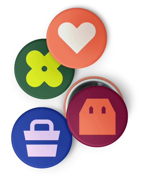 Trulia Building A More Neighborly World Designstudio Identity Design Logo Badge Design Corporate Identity Design
