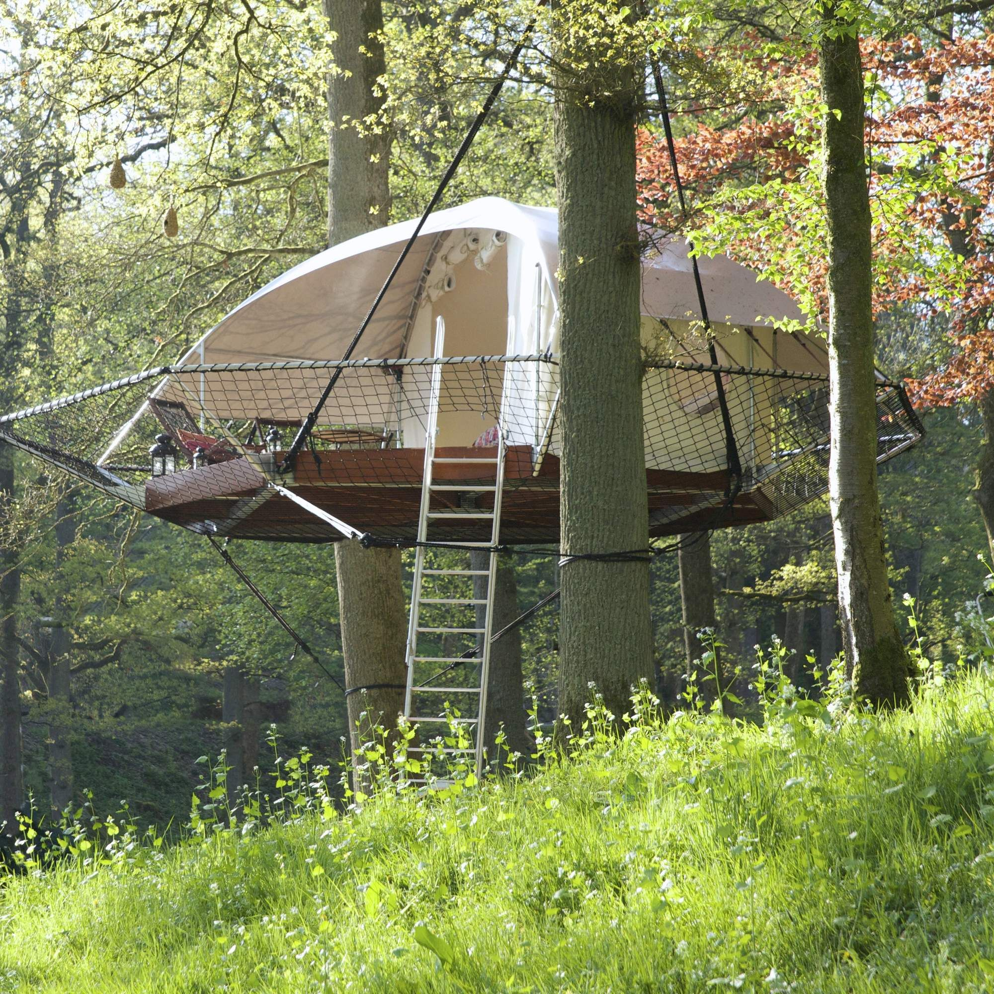 The Portable Treehouse Tent For Grown Ups  sc 1 st  Pinterest & The Portable Treehouse Tent For Grown Ups | Treehouse Tents and ...