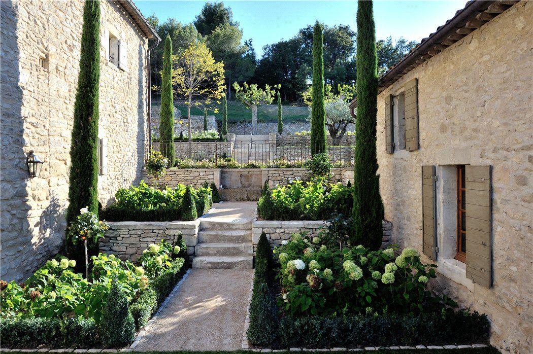Lacoste Luberon Vaucluse Provence Idees Jardin Jardins Vaucluse