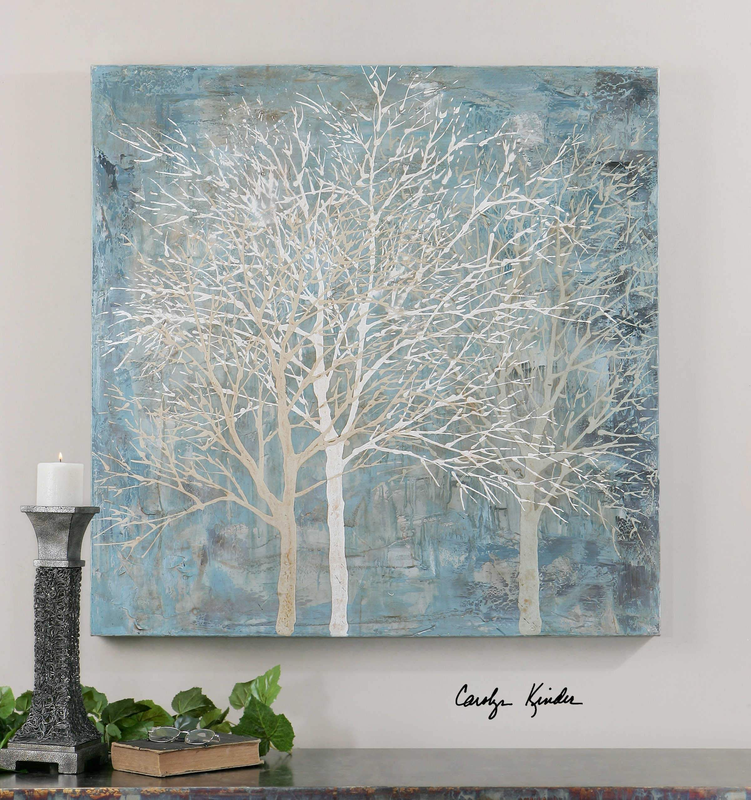 Christmas Tree Shop Binghamton Ny: Hand Painted Artwork On Canvas Is Stretched And Attached