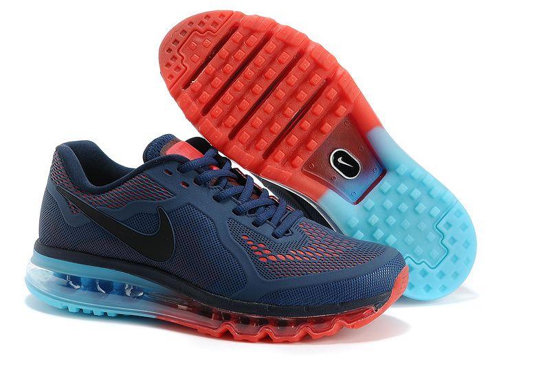 Find Nike Air Max 2014 LG KPU Navy Blue Black Red Super Deals online or in  Pumaslides. Shop Top Brands and the latest styles Nike Air Max 2014 LG KPU  Navy ...