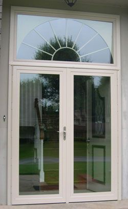 West window storm door double pane insulated glass for Insulated double doors
