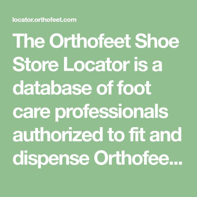 orthofeet store near me