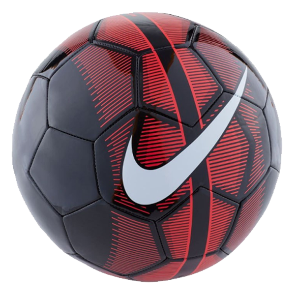 Nike Mercurial Fade Training Ball Black Pink Red Soccer Ball Soccer Sports