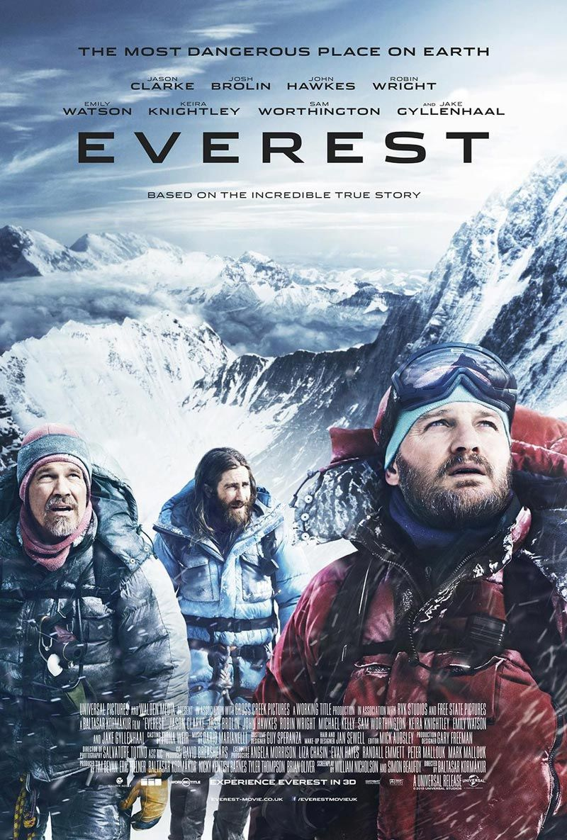 Yes/No Films: Movie Review: Everest | My Movie Reviews