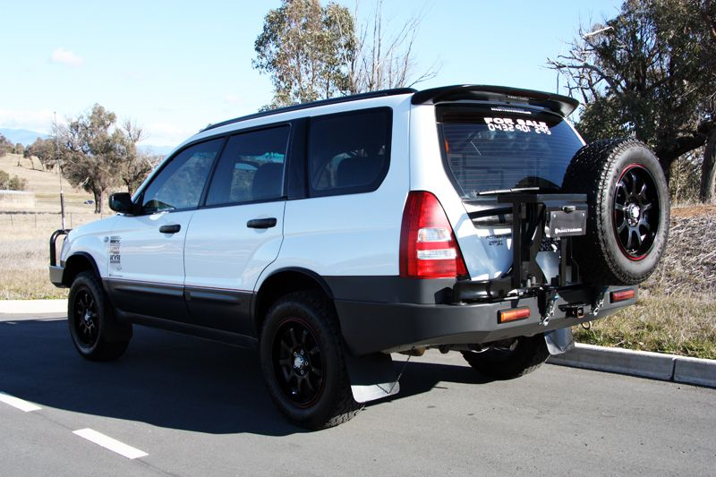 2003 Subaru Forester Sg 2 5 X Off Road Spec Love The Spare Tire